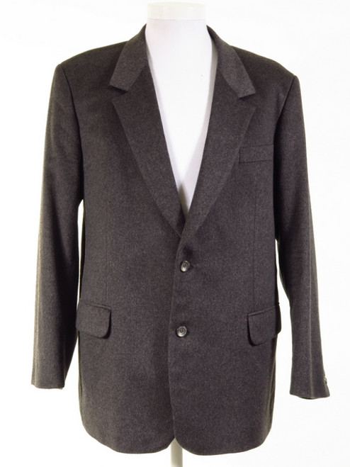 Grey Pure Wool Jacket