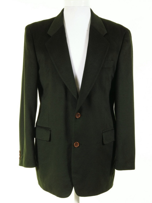 Green Cashmere Jacket