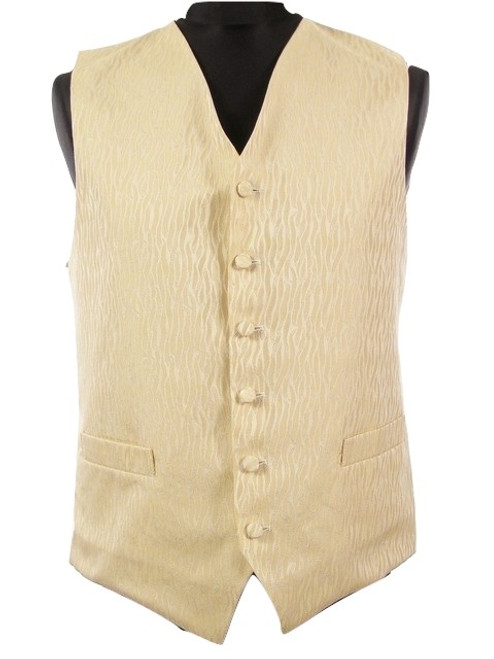 Gold wedding dress waistcoat