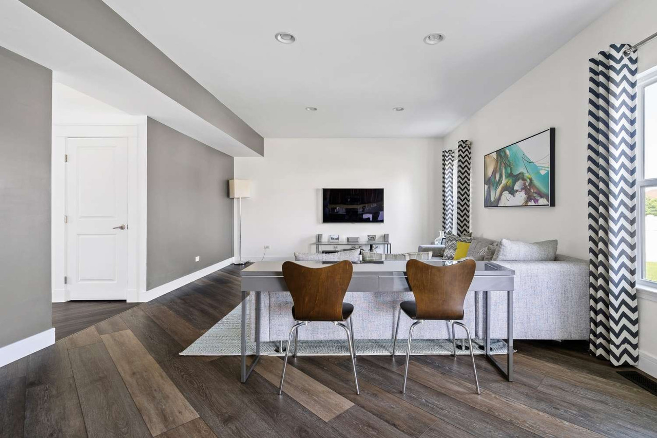 Two Different Floor Colors Work Together Stunningly in this Interior Designer's Home | Bridget's Story