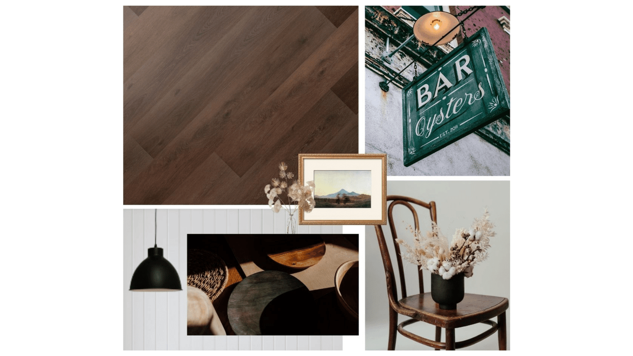 Creating a Modern Vintage Aesthetic With Catura Signature | Mood Board