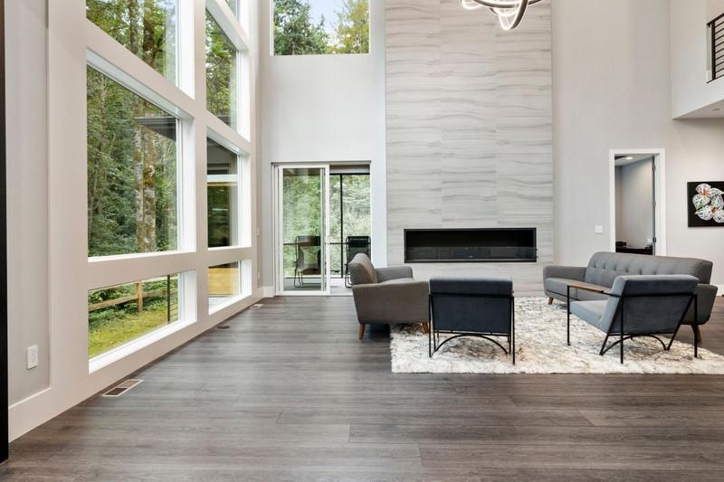 Installing Beautiful Grey Vinyl Floors in a New Home Build | Aaron's Story
