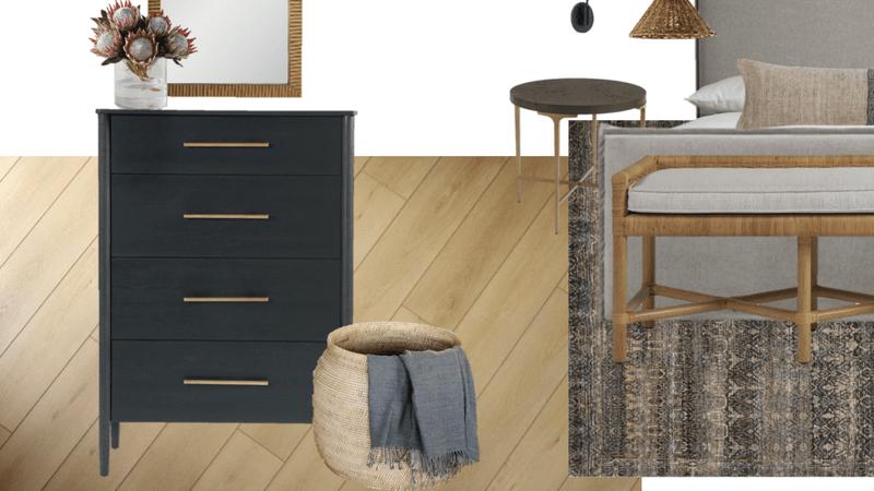 Styling Soho for a Coastal Inspired Bedroom | Mood Board