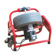 "DM150 Drain Cleaning Machine by Dura cable is great for lines sized at 1-1/4"" to 4"" and comes with 1/2"" x 75' drain cable"