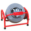 "DM150 Commercial pivot drain machine comes with a 14"" poly enclosed cable drum and 1/2"" x 75' sewer cable"