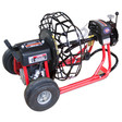 "DM30 SP drain cleaning machine with 21"" metal cable reel that runs 5/8"" x 100' sewer cable"