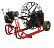 "DM55 SPJ - Drain cleaning machine by Duracable that runs 11/16"" x 150' sewer snake"