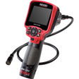 The RIDGID CA-350 can capture still images and video using a 3.7 Li-Ion battery or 5V A/C adapter. It comes equipped with a 3-foot flexible cable. and an SD card.