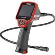 The CA-150 from RIDGID can display video on its large screen using 4 AA batteries.