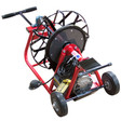 """J-Maxx drain machine by Duracable is a great mid-size drain machine with 6"""" wheels to move the machine easily"""