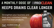 Do your customers want to keep drains clear longer? Of course they do.