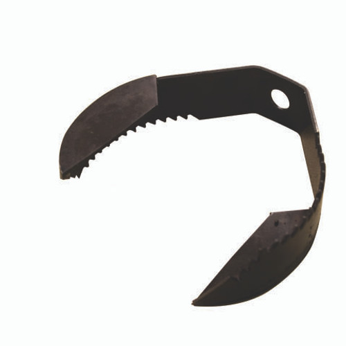 """4"""" Heavy Double Paddle Pear Drain Cleaning Saw Blade (5 pack) 