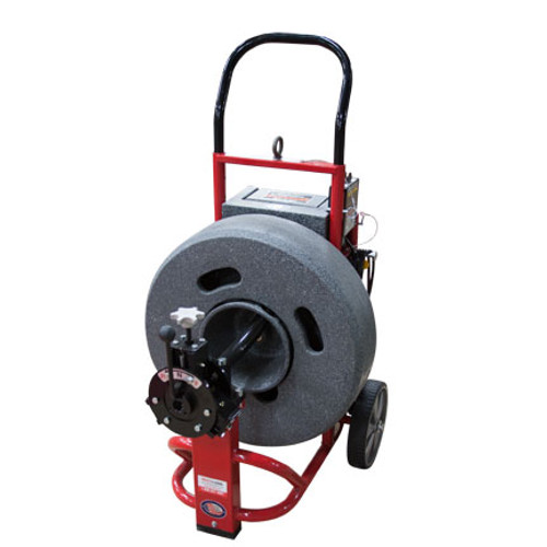 "DM175SP1 - Upright drain cleaning machine with 23"" cable drum"