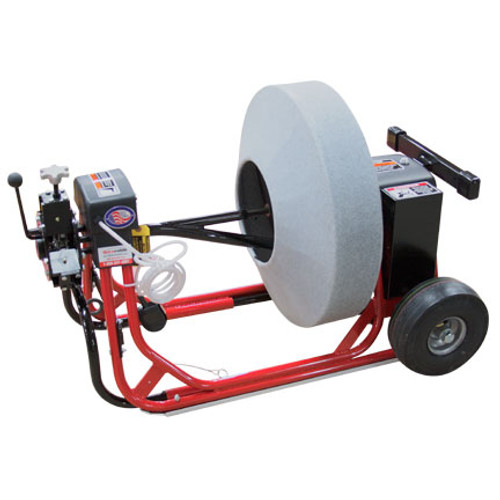 "DM55 SPP Drain Cleaning machine with 26"" enclosed cable drum for 11/16"" drain snakes"