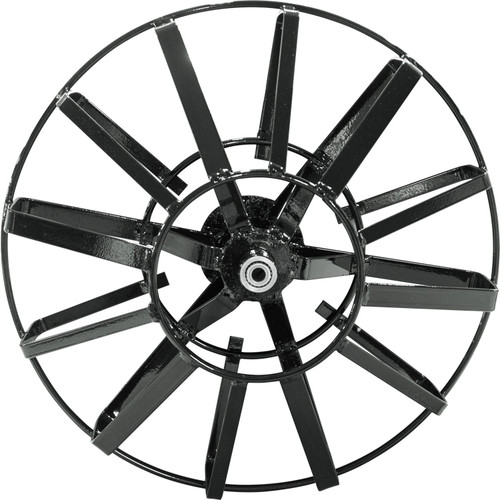 "The 16"" open spoke metal reel fits the J-Maxx and DM10 mid-size drain cleaning machines by Duracable."