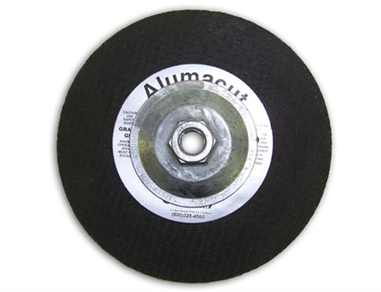 Sparky Alumacut T27 Grinding Wheel (with Hub) - Best for Aluminum Grinding!