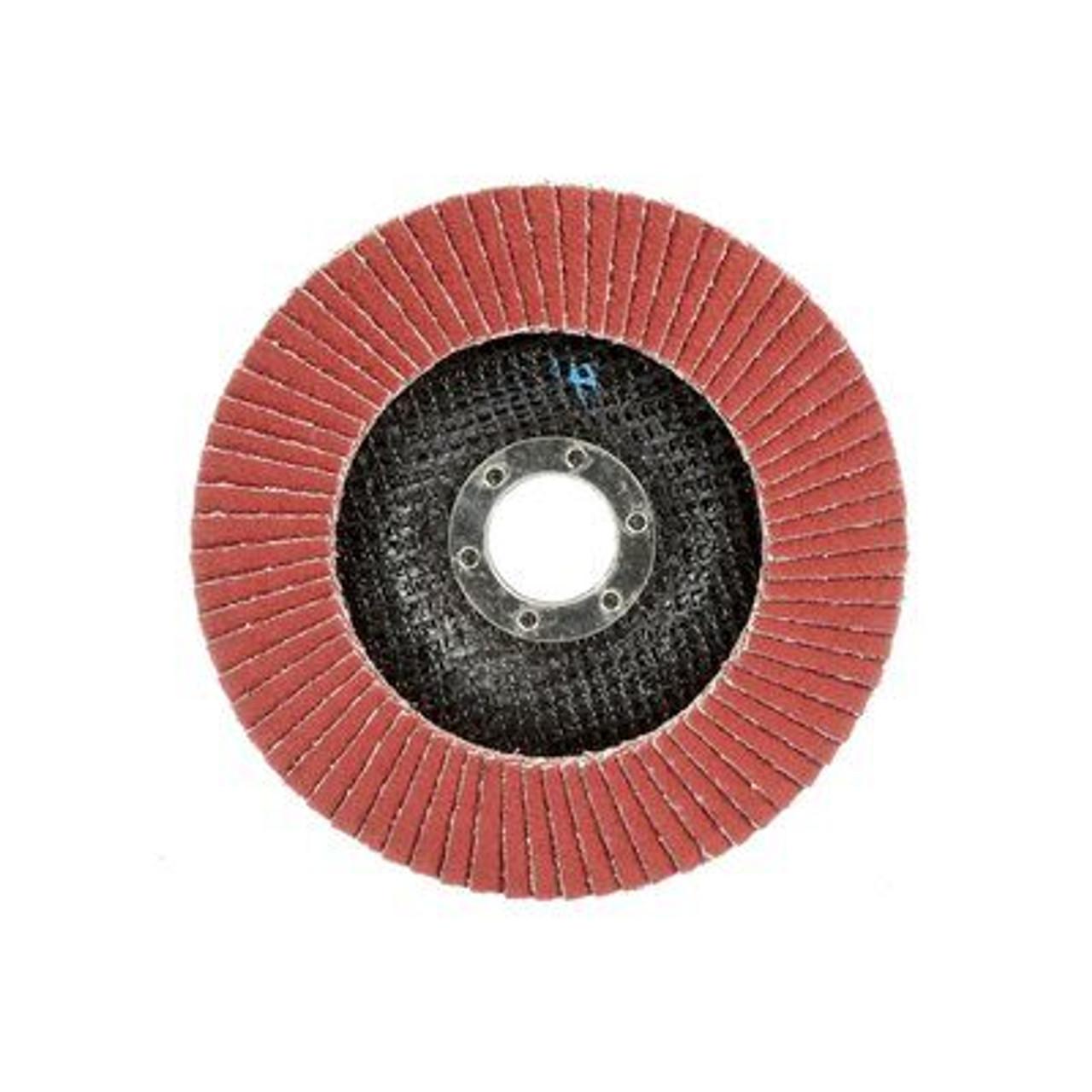 """7"""" 3M™ Cubitron™ II Flap Disc 969F"""
