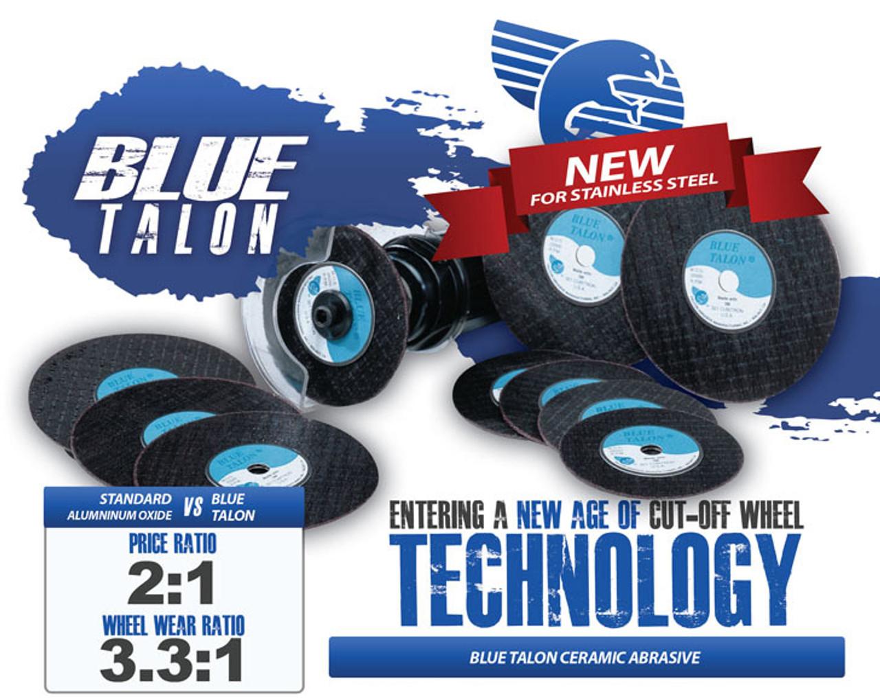 Falcon Abrasives Premium Cut-Off Wheels - T1 Ceramic Blue Talon