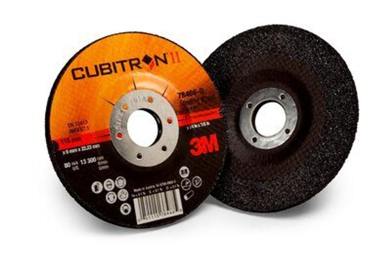 3M™ Cubitron™ II Depressed Center Grinding Wheel T27