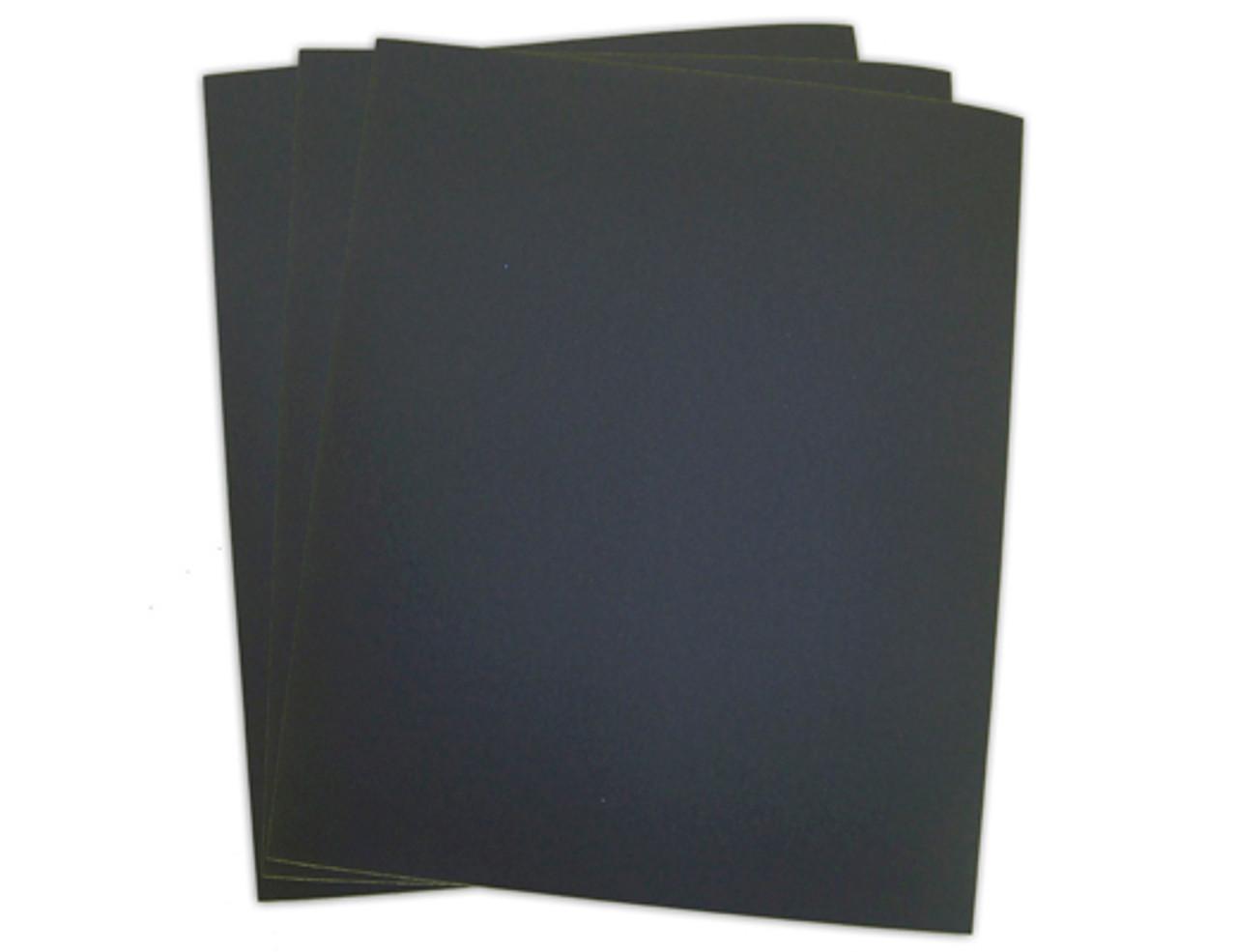 "9"" x 11"" Wet/Dry Sandpaper Sheets Silicon Carbide 100/pk"
