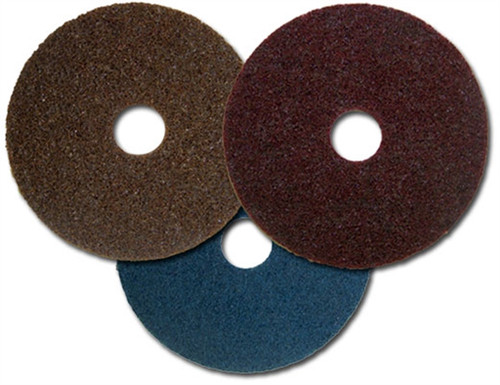 "Sparky Surface Conditioning Hook & Loop Discs (7/8"" arbor) - Aluminum Oxide"