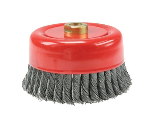 """6"""" Twist Knot Wire Cup Brush"""