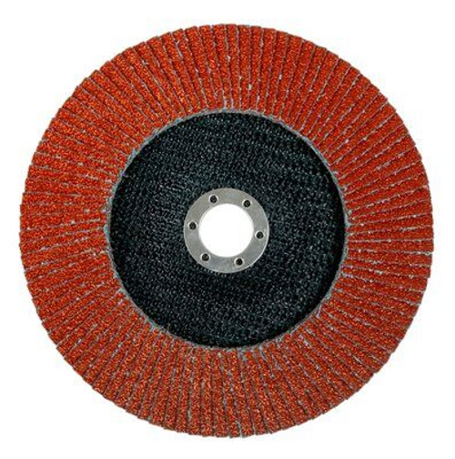 "4-1/2"" x 7/8"" Ceramic T27 Flap Disc, 60 Grit (20 available)"