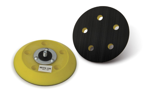 Hook and Loop DA Backing Pad with Vacuum Holes