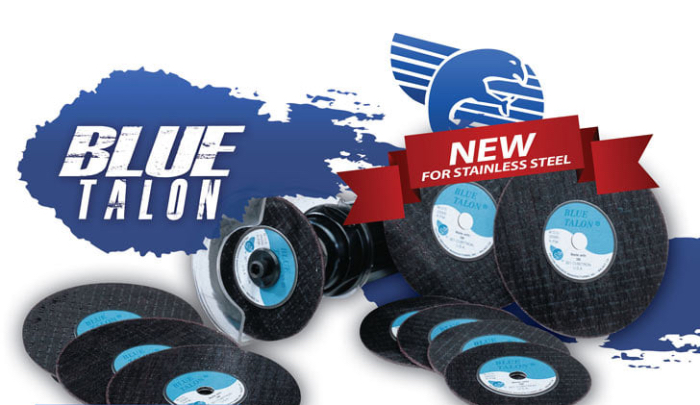 Now Offering Blue Talon Cut Off Wheels for Stainless Steel