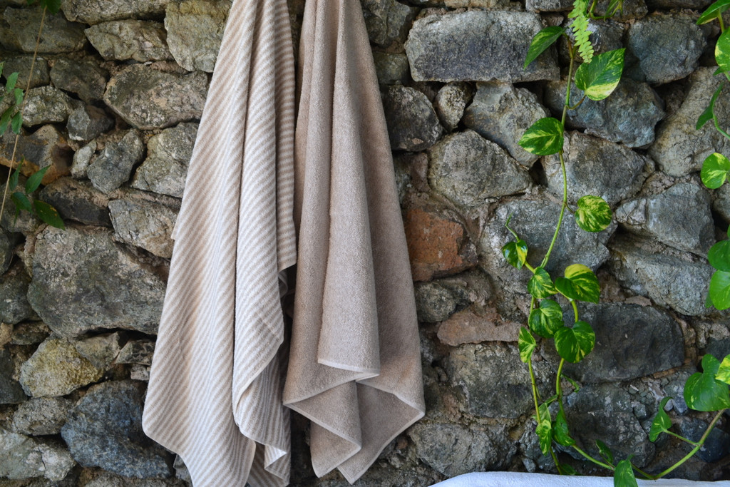 Pinstripe and Sand Beige (Natural)