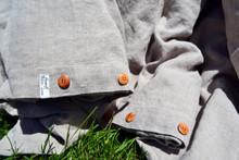 Natural Rustic Heavy Weight Linen Duvet/ Quilt Cover