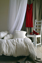 Ivory Rustic Rough Natural Linen Duvet cover. Heavy weight linen. All sizes