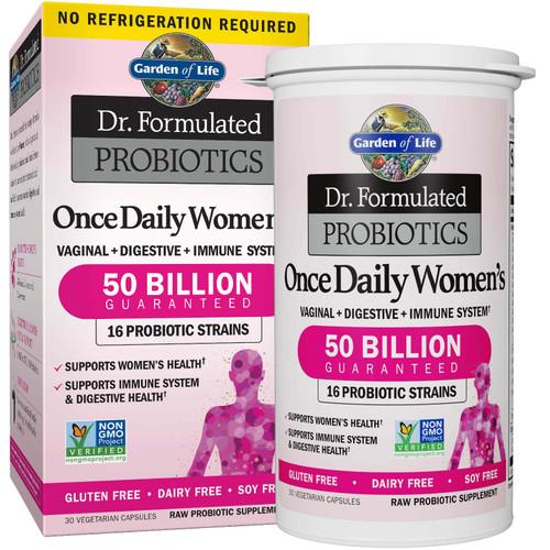 Garden of Life Once Daily Women Probiotics 30 caps