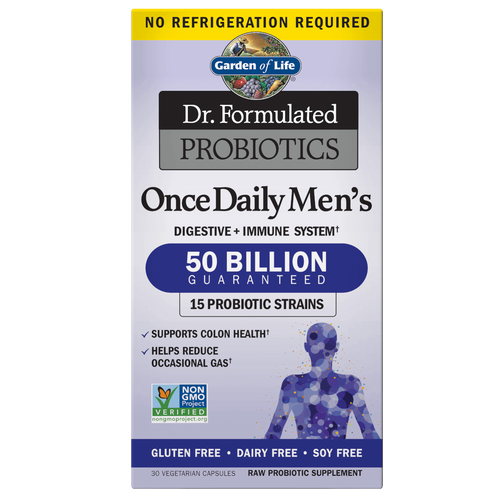 Garden of Life Probiotics Once Daily Men's - 30 Caps