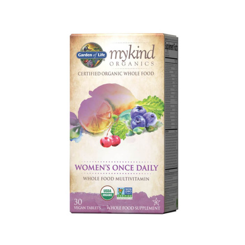 Garden of Life mykind Organics Women's Once Daily - 30 Tablets