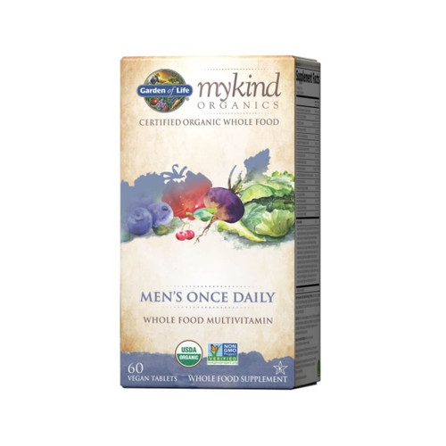 Garden of Life mykind Organics Men's Once Daily - 30 Tablets