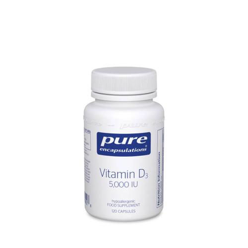 Pure Encapsulations Vitamin D3 5000iu