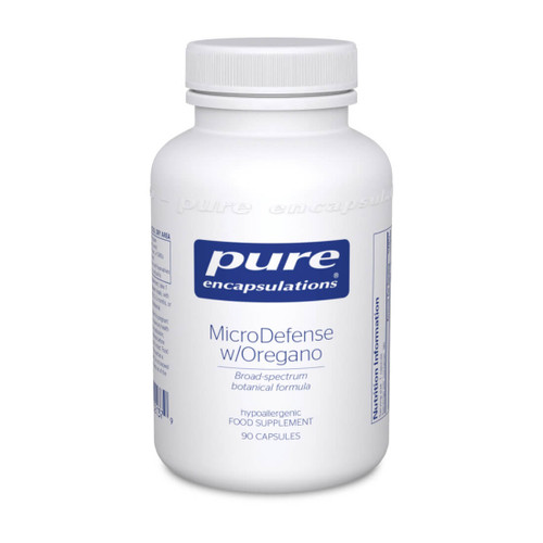 Pure Encapsulations MicroDefense with Oregano 90 caps