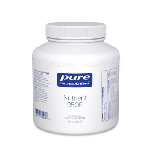 Pure Encapsulations Nutrient 950E 180 caps