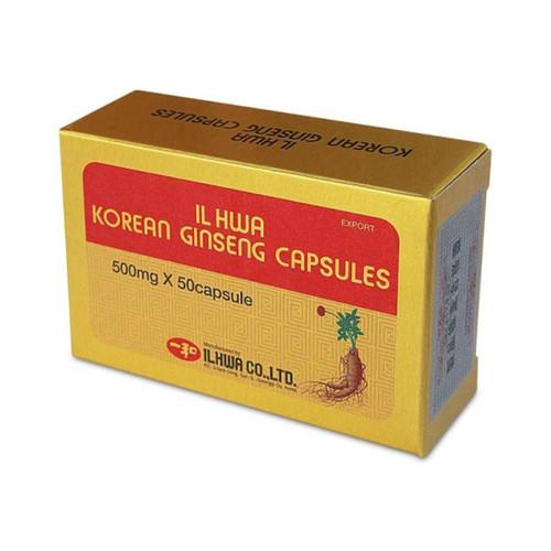 Il Hwa Korean Ginseng 50 capsules x500