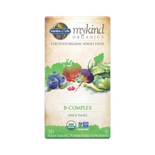 Garden of Life mykind Organics Vitamin B complex 30 tabs