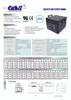 Simplex 112-123 Fire Alarm Control Panel Battery 12V 110ah