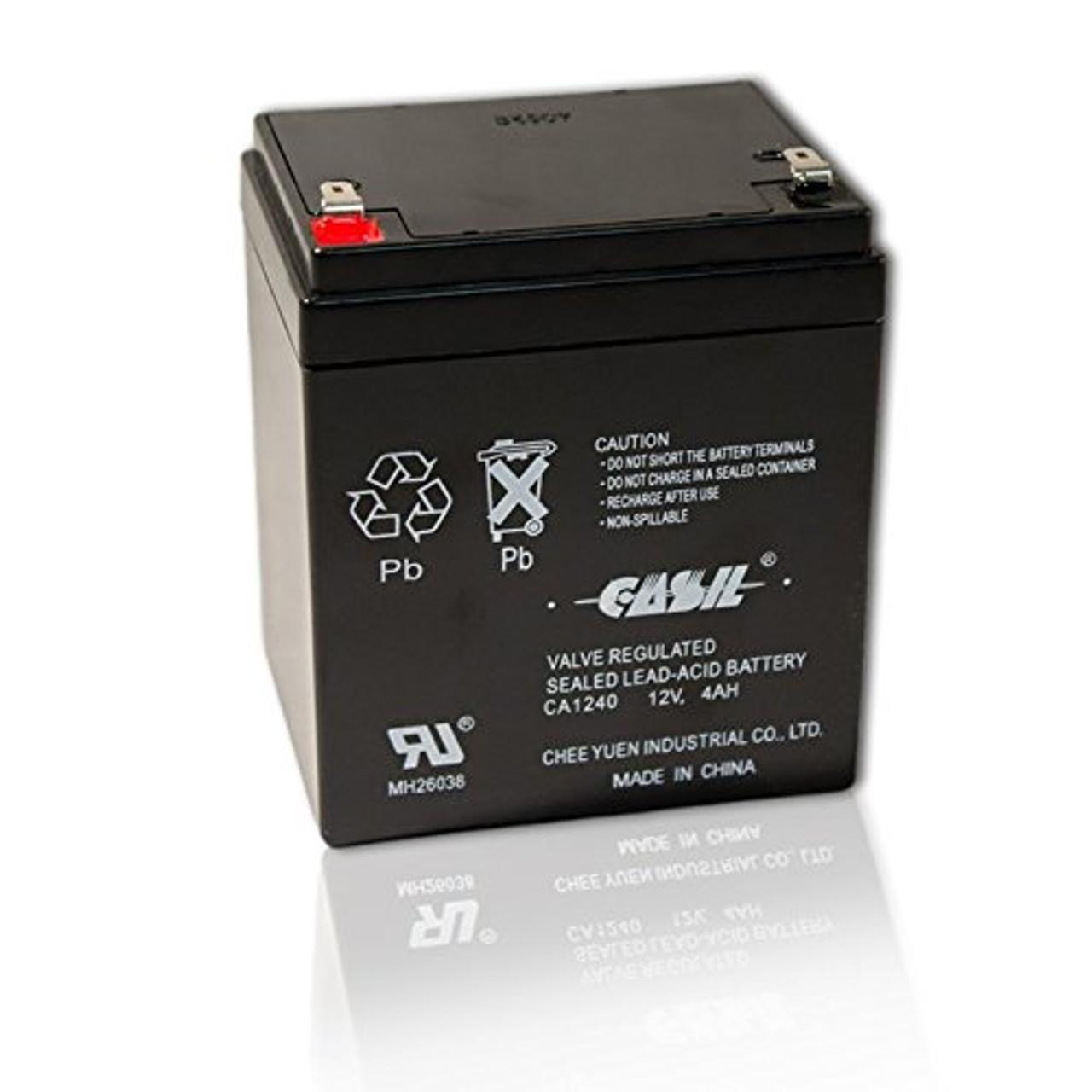 Casil CA1240 12v 4ah  ADT Honewell Home Alarm Battery