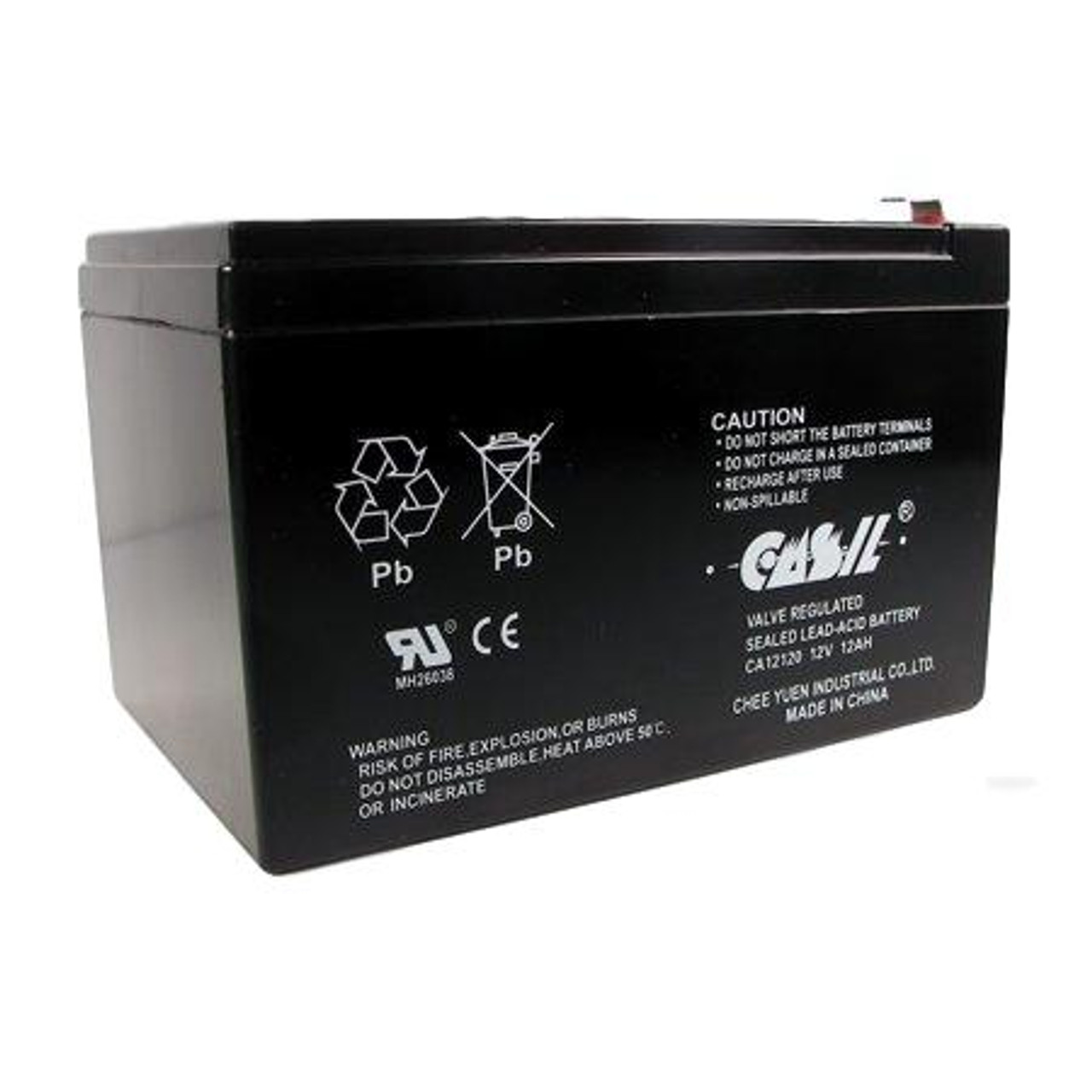 Casil CA12120 12v 12ah for Altronix AL1024ULXPD4 12V 12Ah Replacement Alarm Battery