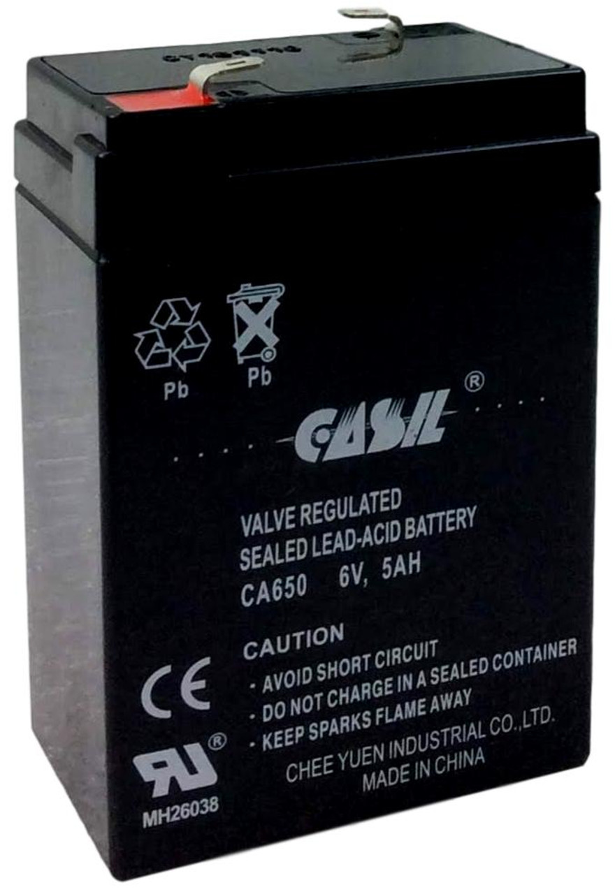 Casil CA650 6v 5ah Ride on toy battery