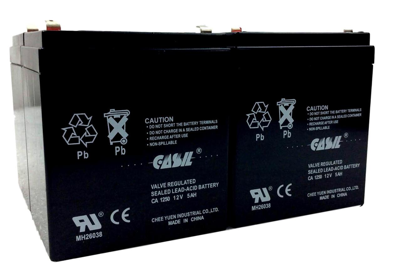 Casil CA1250 12v 5ah Razor Scootor Battery