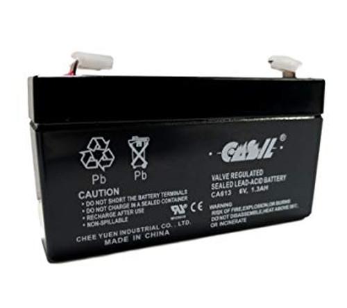Casil CA613 6V 1.3AH battery for simon xt security system