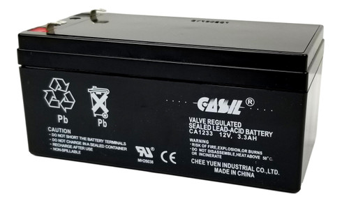 Casil CA1233 12v 3ah 3.3ah 3.4ah Sealed Lead Acid Battery