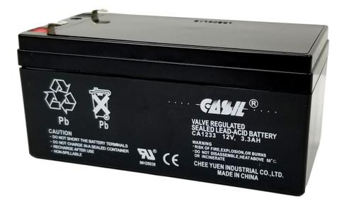 Casil CA1233 12v 3ah 3.3ah 3.4ah Sealed Lead Acid Battery