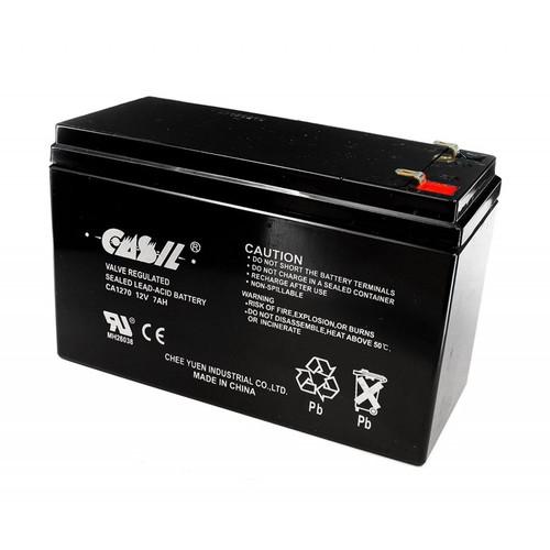 Casil CA1270 12v 7ah ADT Honeywell home alarm battery
